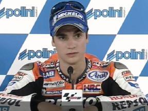 Dani PEDROSA tras la carrera