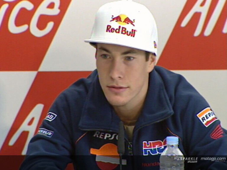 Hayden - Press Conference GP France