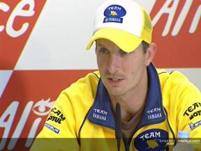 Edwards - Pressekonferenz GP France