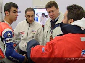 Le nouveau team FFM Honda GP125