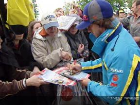 MotoGP riders meet the fans
