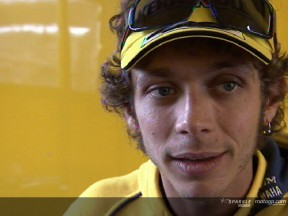 Valentino ROSSI after race