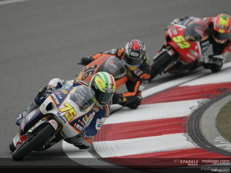 125cc - Circuit Action Shots