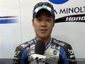 Makoto TAMADA tras la FP2