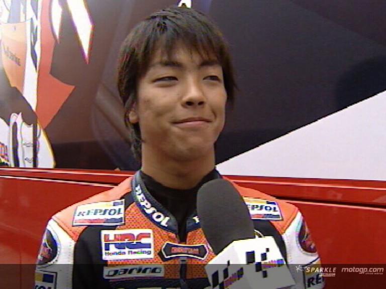 Shuhei AOYAMA after ITA