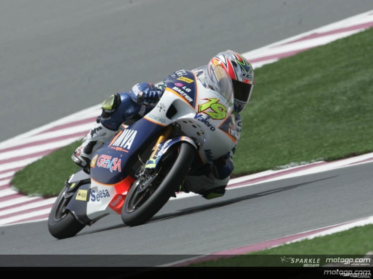 125cc Circuit Action Shots - Qatar