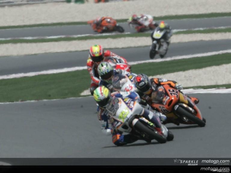 125cc Circuit Action Shots - Qatar