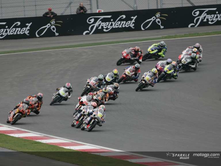 125cc Circuit Action Shots - Turkey