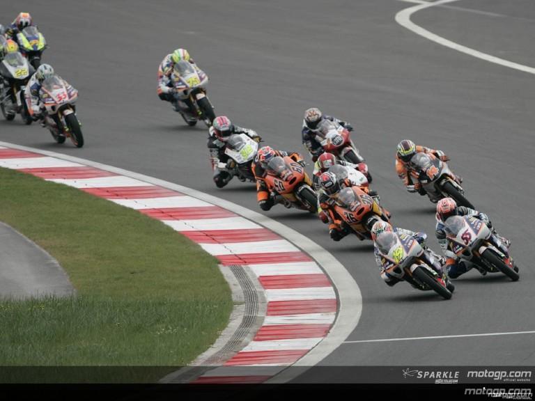 125cc Circuit Action Shots - Turkey