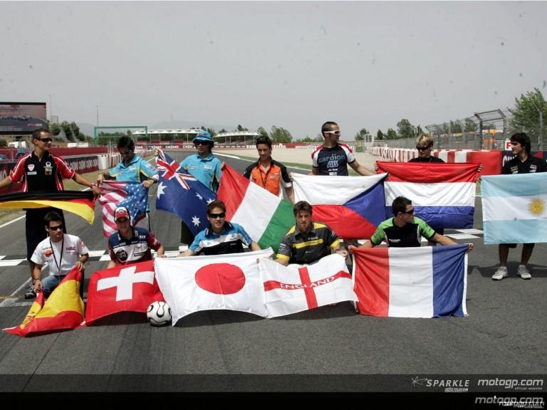 MotoGP paddock taste FIFA World Cup