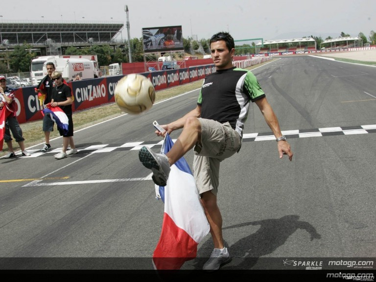 World Cup fever hits Circuit de Catalunya
