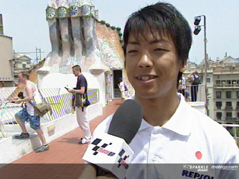 Shuhei AOYAMA after pre-event