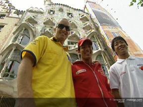 I piloti alla scoperta del patrimonio di Barcellona