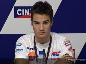 Dani PEDROSA - Pressekonferenz