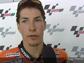 Nicky HAYDEN apres course