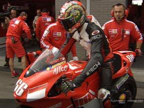 Hofmann´s debut with Ducati