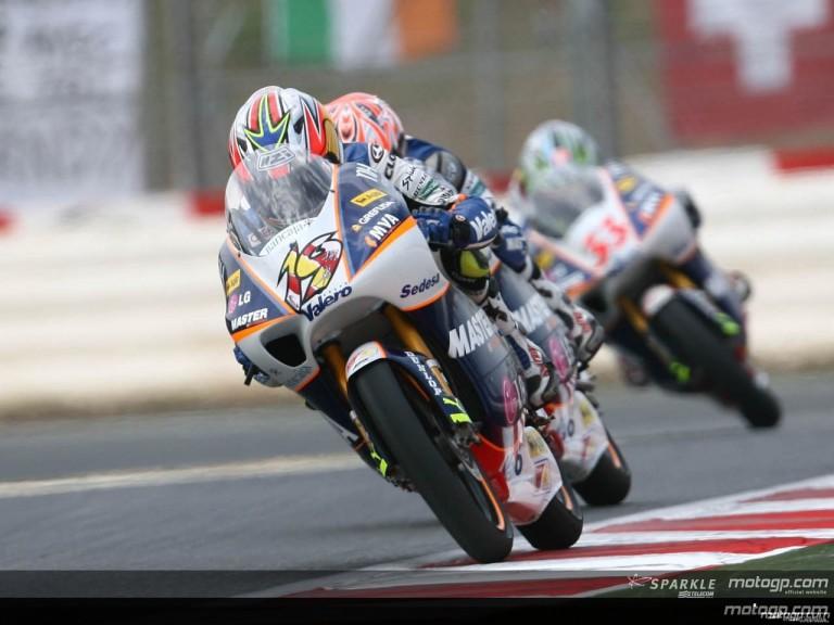 125cc - Circuit Action Shots - Gran Premi Cinzano de Catalunya