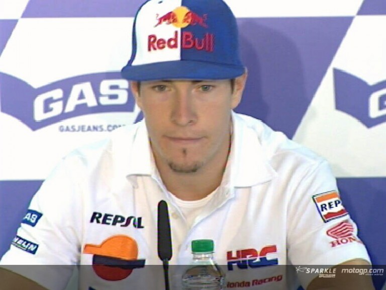 Nicky HAYDEN - Press Conference