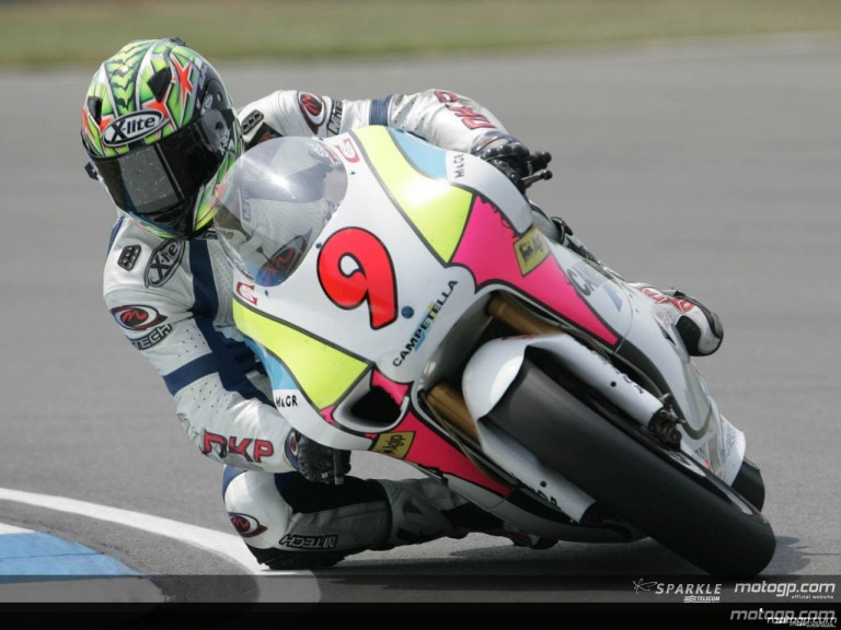 250cc - Circuit Action Shots - Gas British Grand Prix