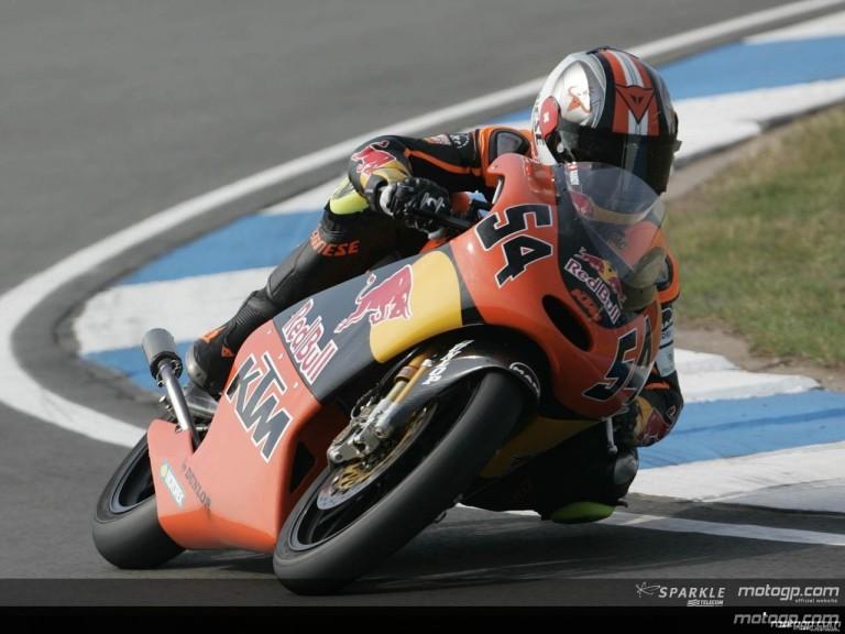 125cc - Circuit Action Shots - Gas British Grand Prix