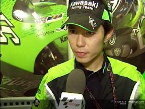 Shinya NAKANO tras la carrera