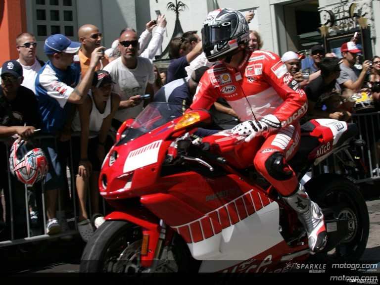 MotoGP stars shine at Hollywood Boulevard