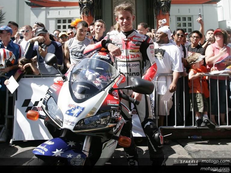 MotoGP stars shine at Hollywood Boulevard