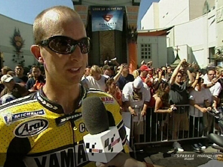 Colin EDWARDS at Hollywood Boulevard