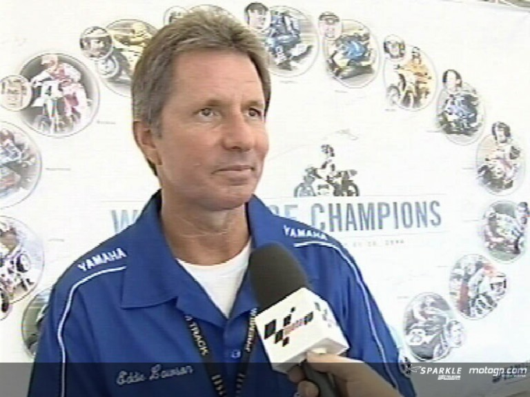 Eddie Lawson on Sunday´s race