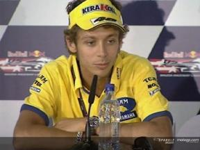 Valentino ROSSI - Conférence de presse