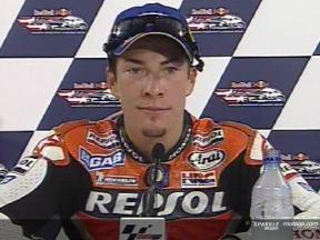 Nicky HAYDEN post gara
