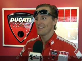 Sete GIBERNAU after race