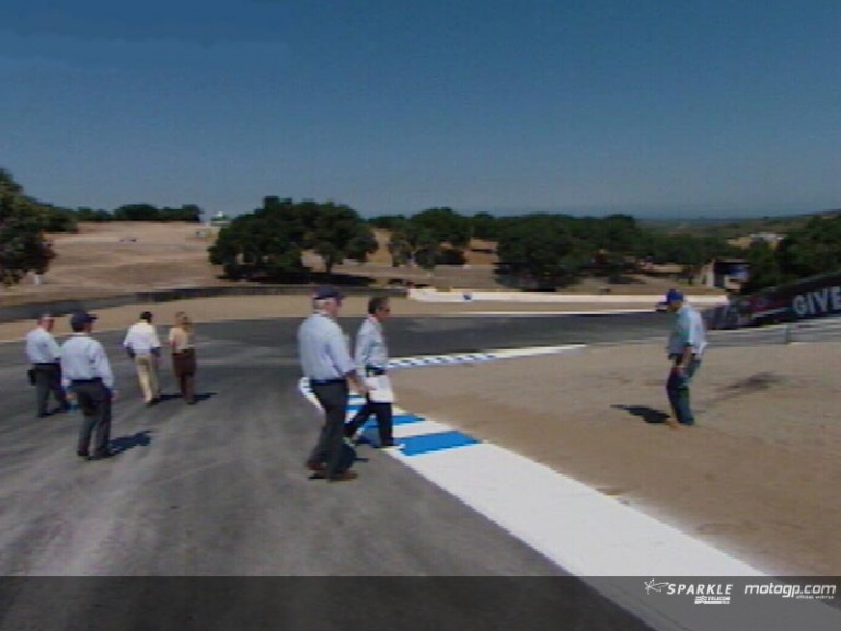 Changes to Laguna Seca track