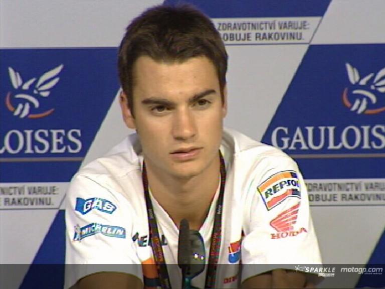 Dani PEDROSA - Press Conference