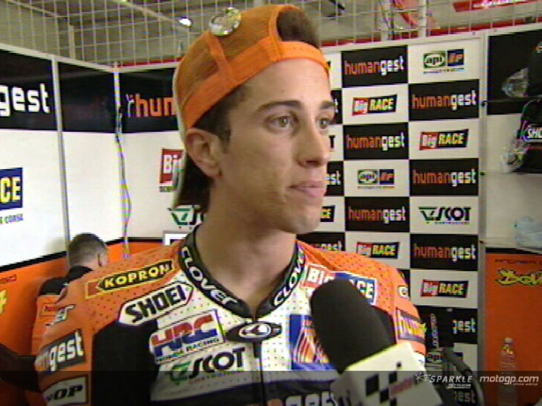 Andrea DOVIZIOSO after QP1