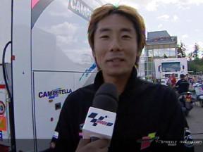 Taro SEKIGUCHI after race