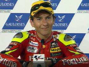 Jorge LORENZO after race