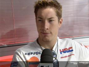Nicky HAYDEN after race