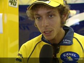 Rossi test first 800cc prototypes at Brno