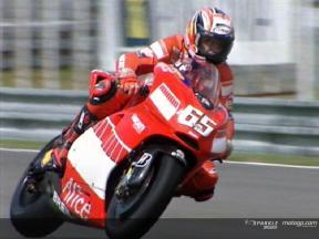Loris CAPIROSSI apres Brno Test