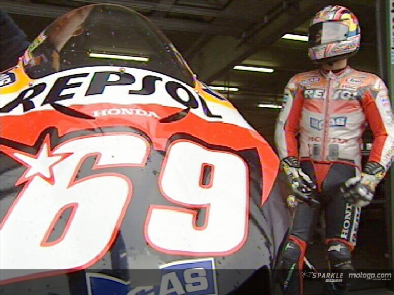 Nicky HAYDEN after Brno Test