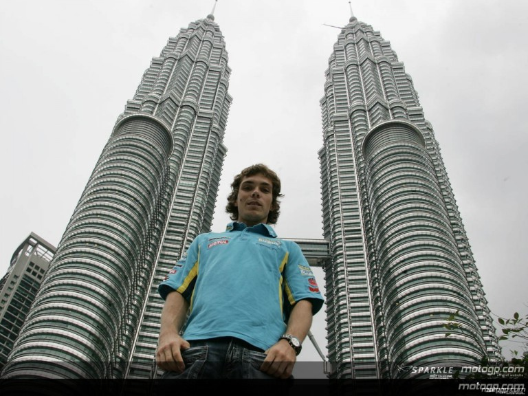 MotoGP riders tower above Malaysia