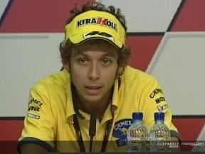Rossi - Rueda de prensa