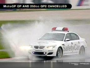 MotoGP QP and 250cc QP2 canceled
