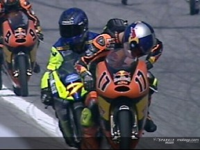 Alexis MASBOU and Stefan BRADL crash during WUP