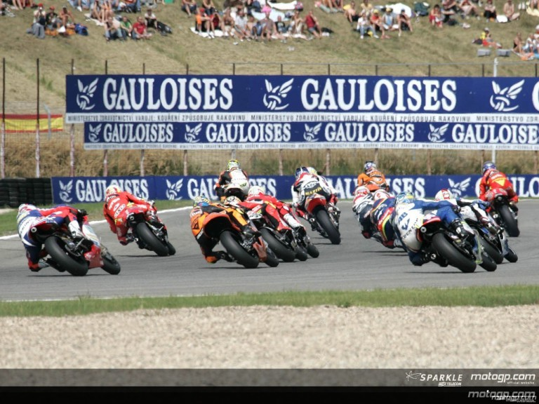 250cc - Circuit Action Shots - Gauloises Grand Prix Ceske Republiky