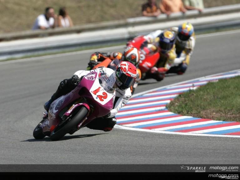 125cc - Circuit Action Shots - Gauloises Grand Prix Ceske Republiky
