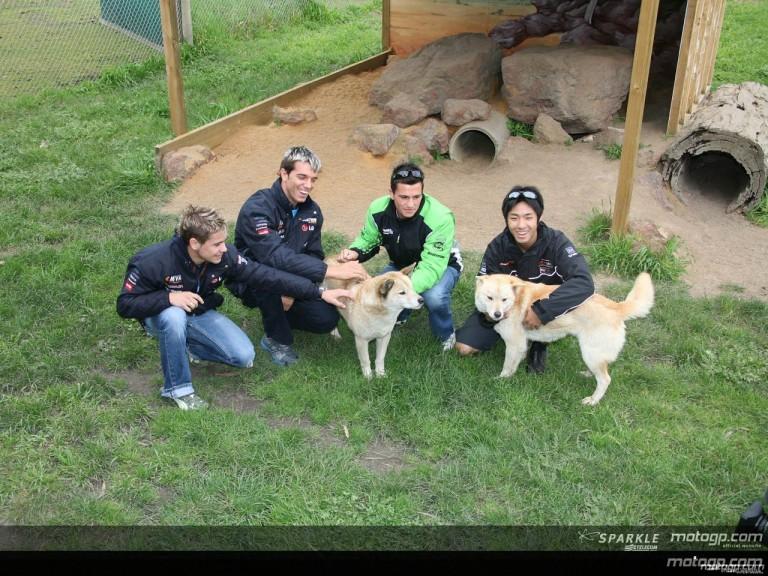 Maru Wildlife Park visited by riders