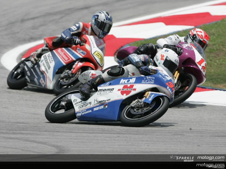 125cc - Circuit Action Shots - Marlboro Malaysian Motorcycle Grand Prix