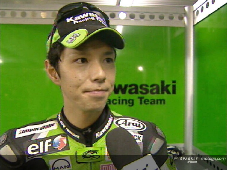 Shinya NAKANO after FP2